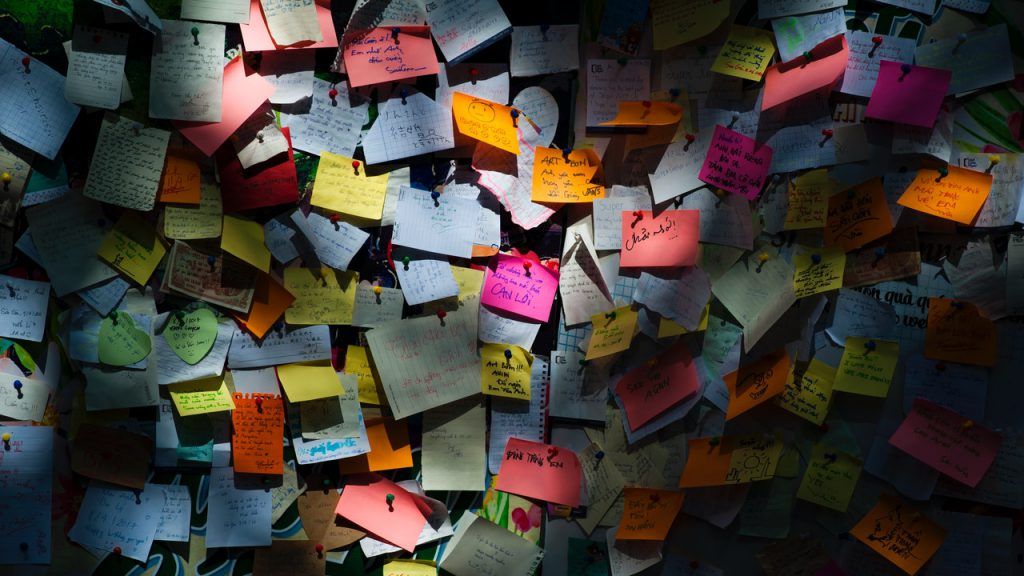 Post it notes Generally Speaking